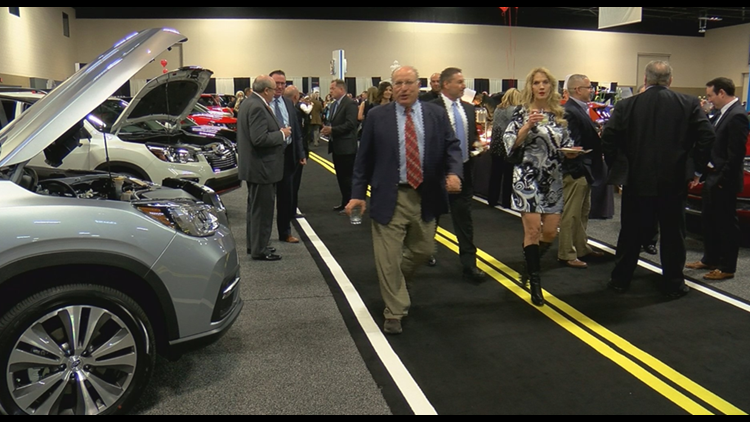 'Cars are the Stars' Charity Preview raises thousands of dollars for local children's charities
