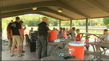Otsego Local Schools hold ice cream social for back to school