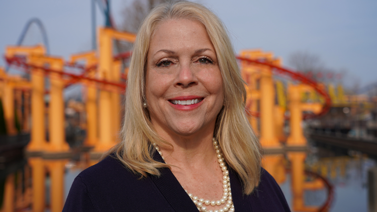 Carrie Boldman makes history as the first female Vice President & General Manager of Cedar Point