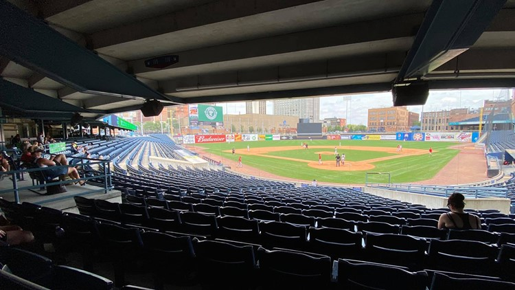 Youth baseball takes over Mud Hens' home, despite COVID-19 and summer heat