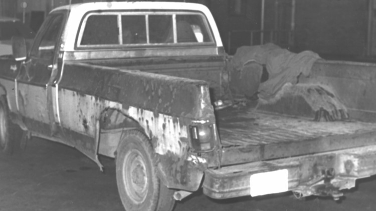Anthony Cook pickup truck used in murders