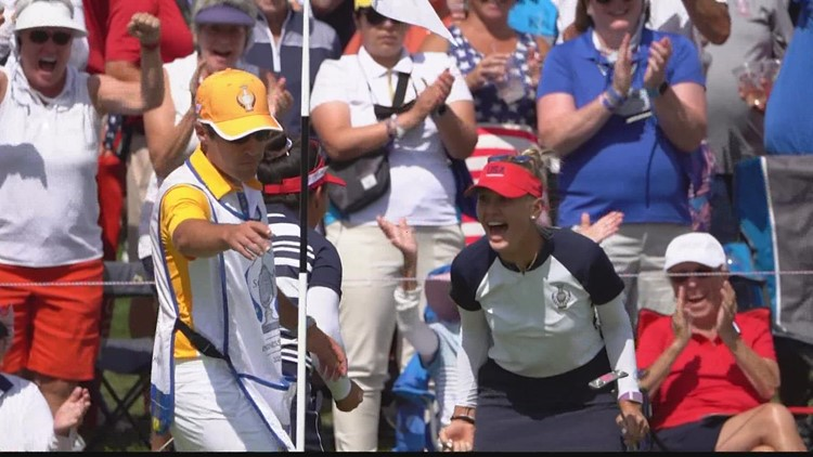 Solheim Cup highlight for the final day of the competition