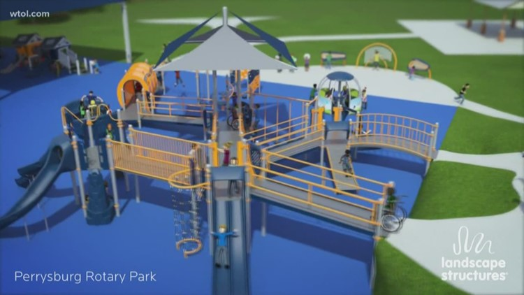 Inclusive playground breaking ground, barriers for kids in Wood County