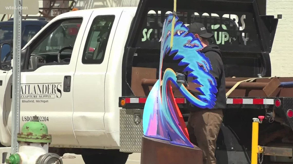 Midwest Sculpture Initiative returns to Fostoria for 4th year