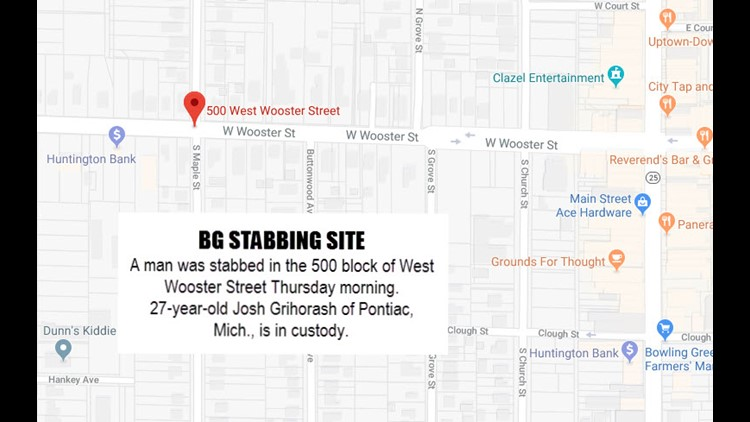 Man charged with attempted murder after stabbing in Bowling Green