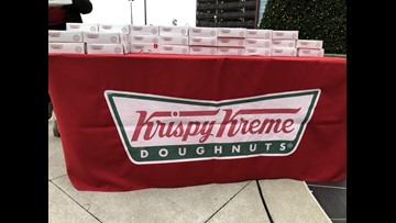 FREE DOUGHNUTS: Krispy Kreme giving out 1,800 free doughnuts ahead of new store's grand opening