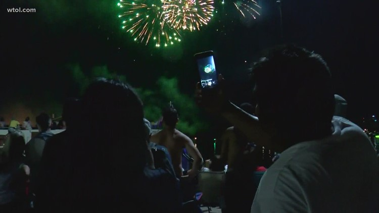 Where and when you can watch fireworks in northwest Ohio