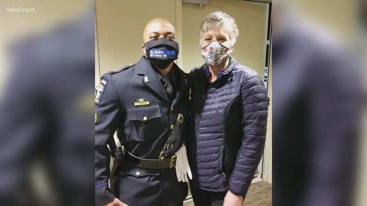 Healing touch: Massage therapist donates gift of peace to Ofc. Stalker's family and fellow officers