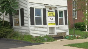 Historical building in downtown Perrysburg for sale for $1