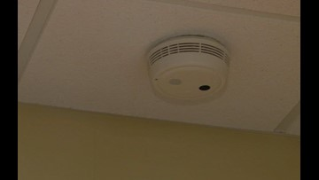 Fire Departments Installing Free Smoke Alarms For Lucas Wood
