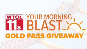WTOL 11 Your Morning Blast Gold Pass Giveaway Rules