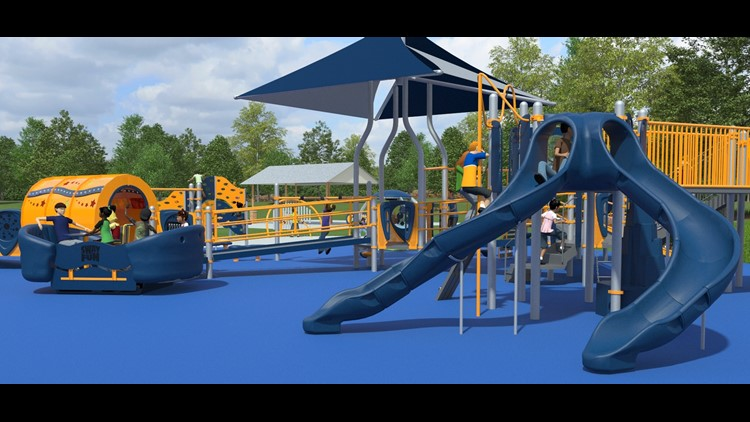 Wood County Plays - Inclusive Playground