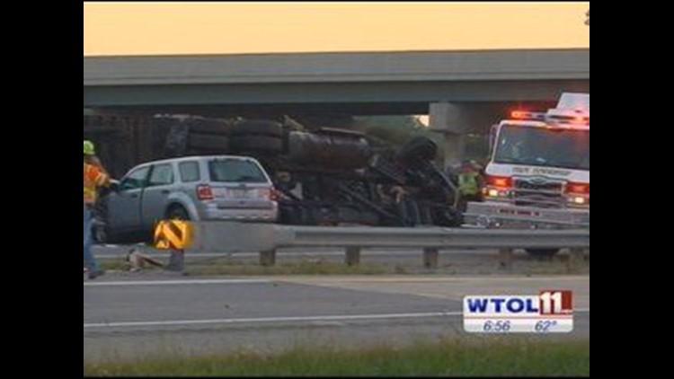 TRAFFIC: Eastbound OH Turnpike lanes open at I-280 after fatal crash