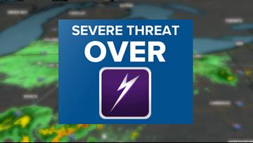 Tornado warnings no longer in effect