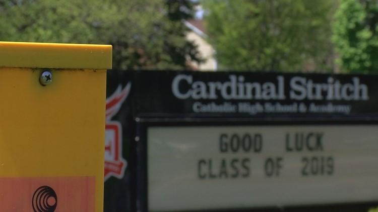 Cardinal Stritch sign congratulating its class of 2019