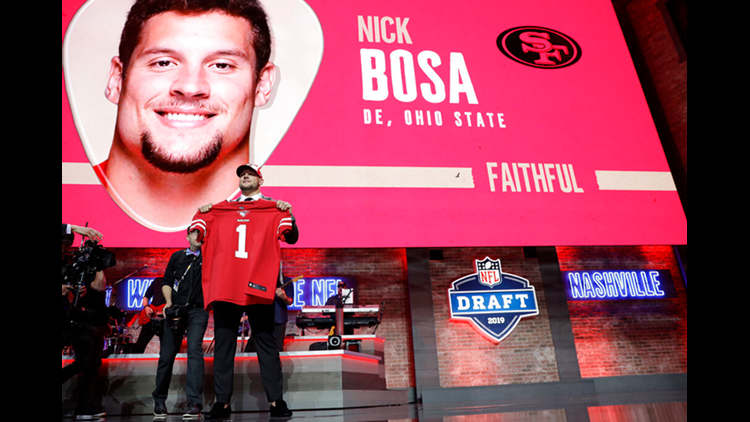 Image result for nick bosa 49ers
