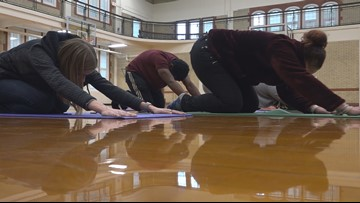 Scott High School offers yoga as detention alternative