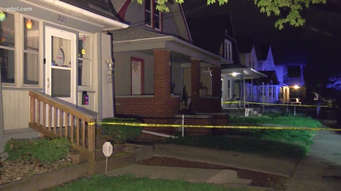 Domestic violence suspect shot after pointing gun at officer in east Toledo