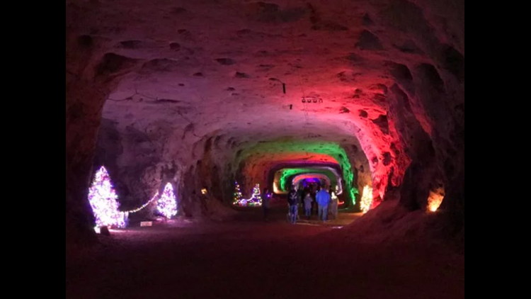 Christmas Cave Minford Ohio 2020 The Christmas Cave is unlike any Christmas attraction around, and