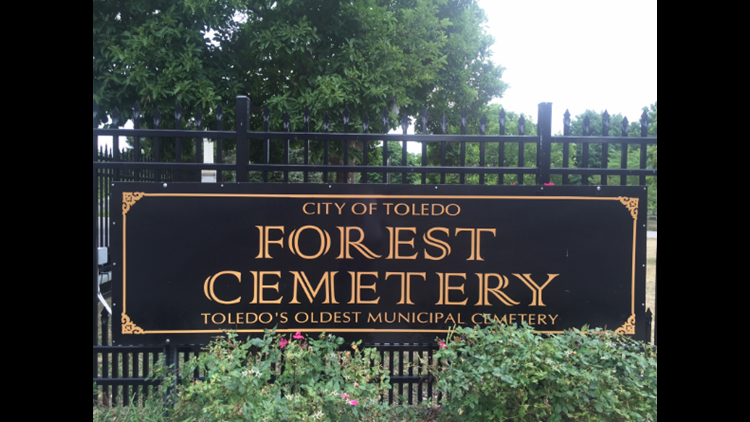More headstones vandalized in Forest Cemetery | wtol com
