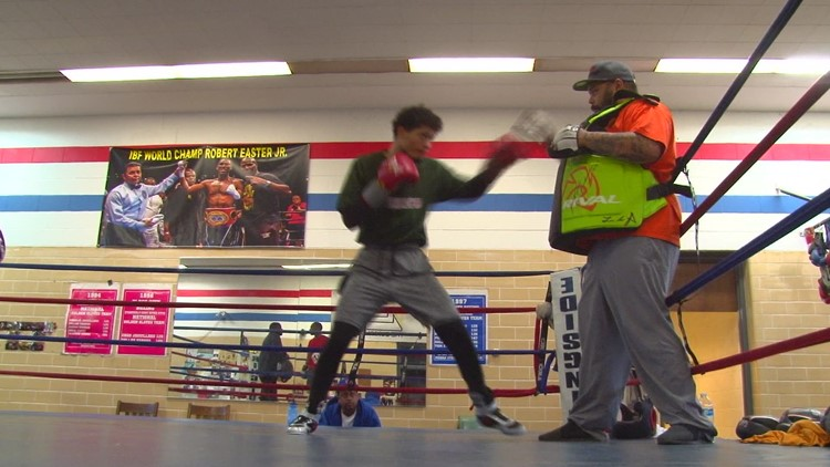 Sonny Fredrickson preparing for next fight on the national stage