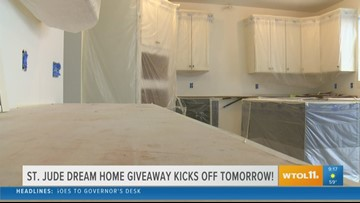 Get your tickets to the St. Jude Dream Home tomorrow!