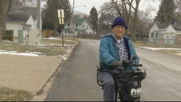 Call 11 for Action: 96-year-old pleads for sidewalks in his neighborhood