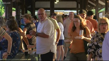 Have a night on the town and shop local at the Toledo Night Market