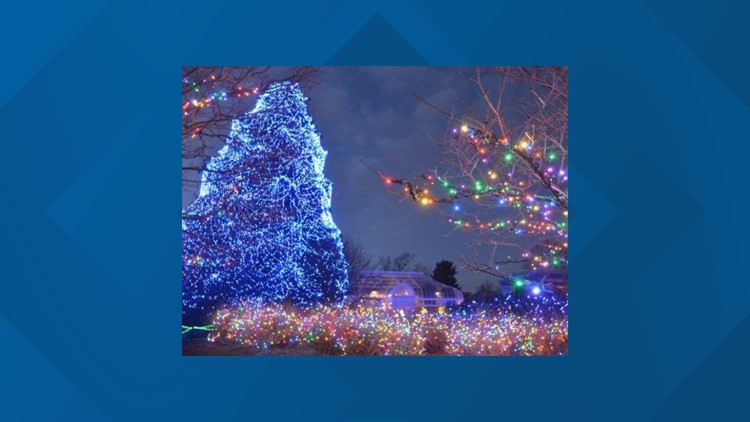 The Lights Before Christmas.So Close Toledo Zoo Finishes 2nd In Best Zoo Light