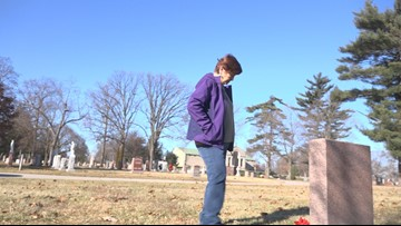 Call 11 for Action: Woman working to uncover family graves at Toledo's Calvary Cemetery