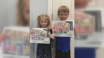 Findlay Fire Department hosts coloring competition to connect with local kids