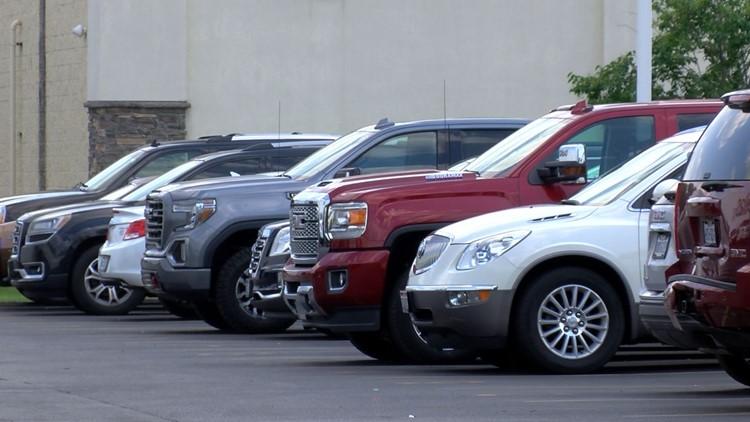 Used car sales booming amid chip shortage