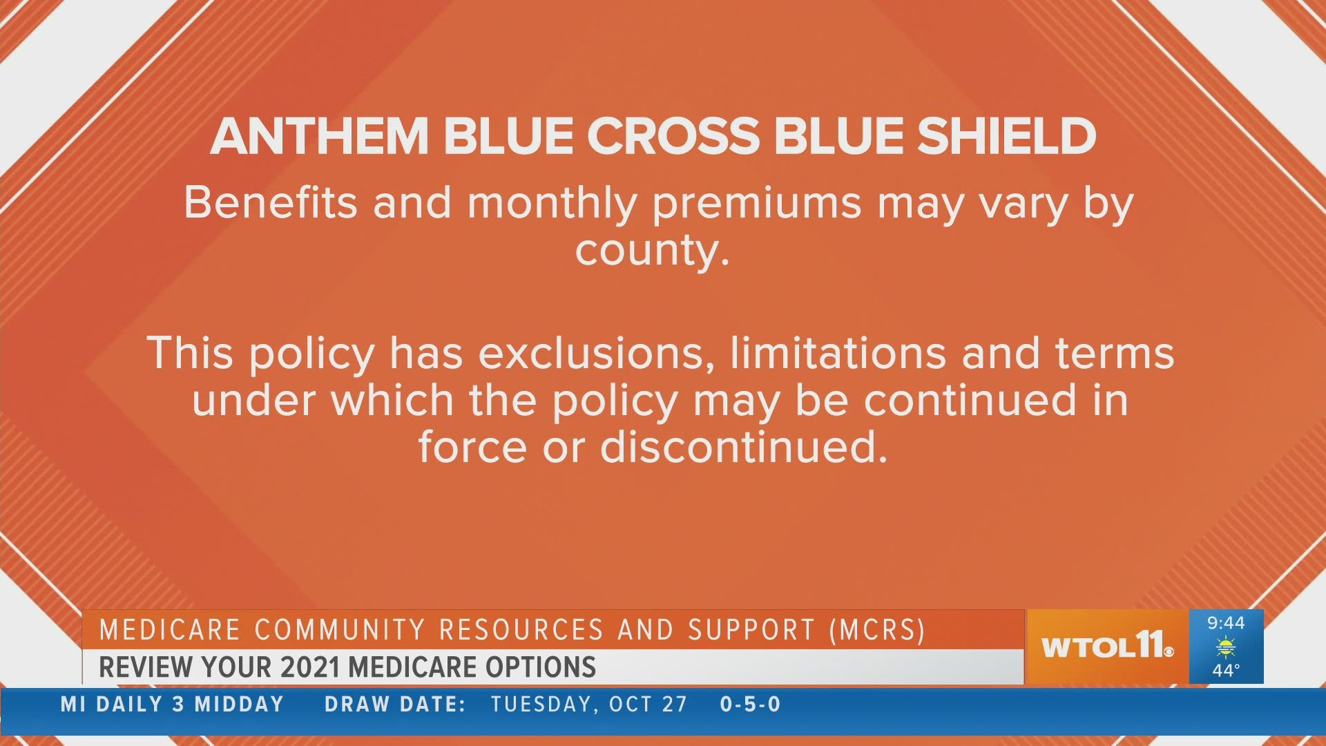 Medicare Open Enrollment options with Anthem Blue Cross ...