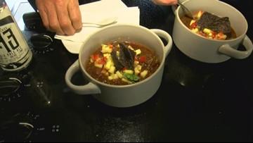 Tailgate food fight: Chicken tortilla soup vs. Chili — Rib sandwich vs. Jamaican jerk chicken