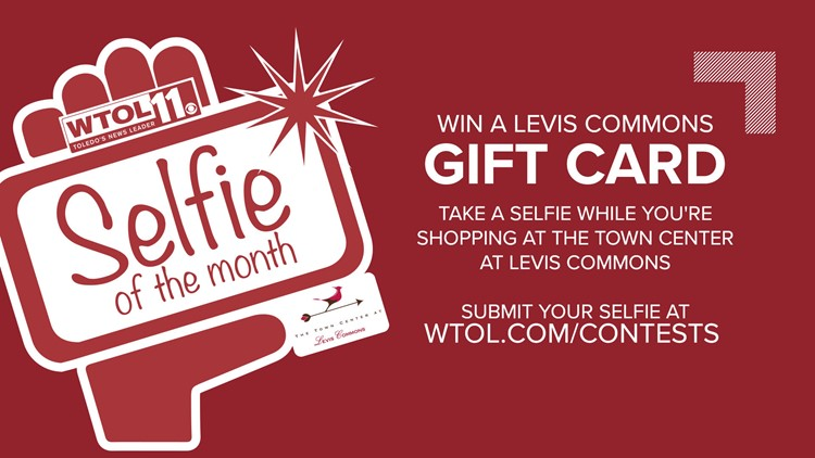 Take a selfie at Levis Commons and WIN!