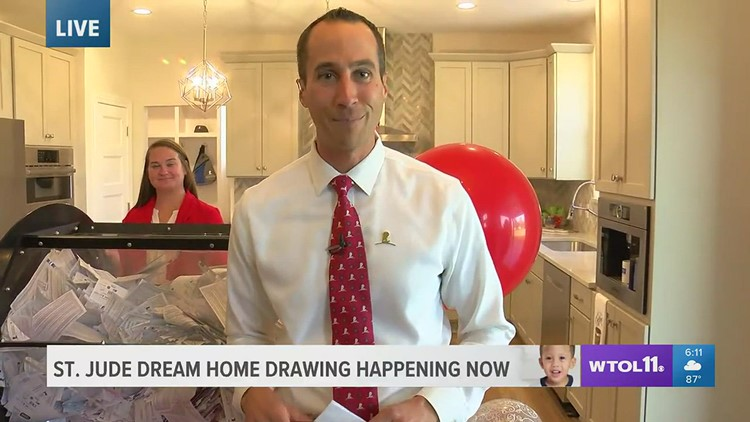 2021 St. Jude Dream Home winner's name is drawn