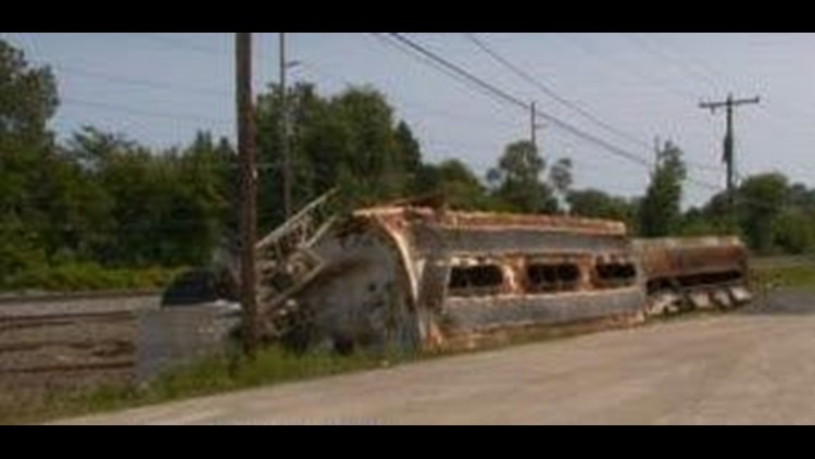 Springfield Twp residents concerned as train derailment