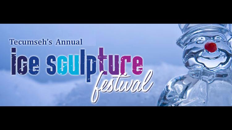 Tecumseh Ice Sculpture Fest