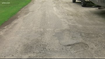 Call 11 for Action: Missed street gets potholes filled after WTOL steps in