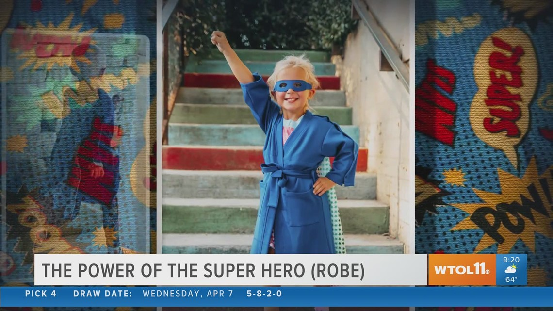 Check out Brobes - special robes for sick children and women with breast cancer