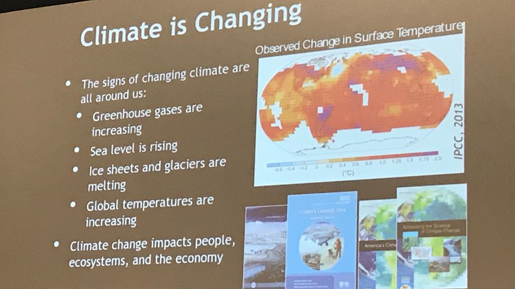 Current Climate Impacts