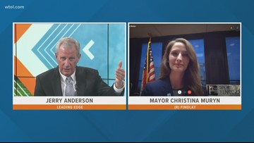 May 5: Leading Edge with Jerry Anderson - Guest Findlay Mayor Christina Muryn