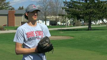Defiance senior baseball player Caden Kline turns attention to Ohio State