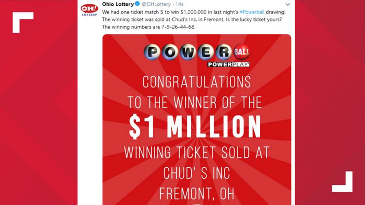 Fremont lotto winner