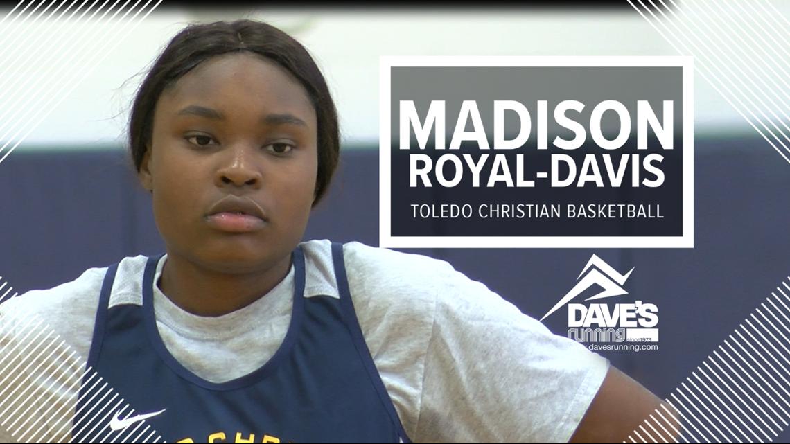 Toledo Christian's Madison Royal-Davis: Athlete of the Week