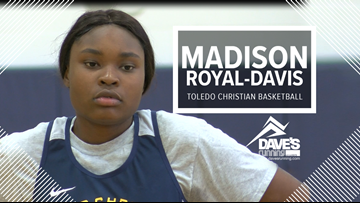 Toledo Christian's Madison Royal-Davis: Athlete of the Week