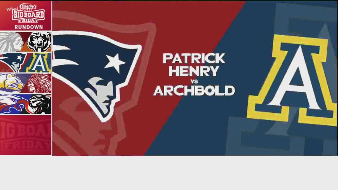 Big Board Friday Week 10: Patrick Henry vs. Archbold