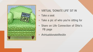 Virtual Big Green Chair sit-in still highlights importance of organ donation