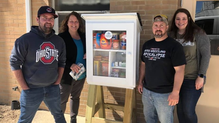Blessing Boxes unite community to help those in need across Seneca County