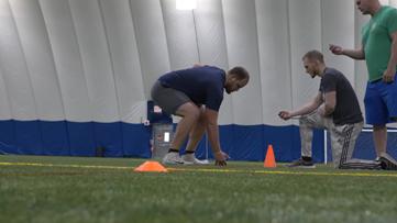 Toledo football's Nate Childress prepares for NFL Draft